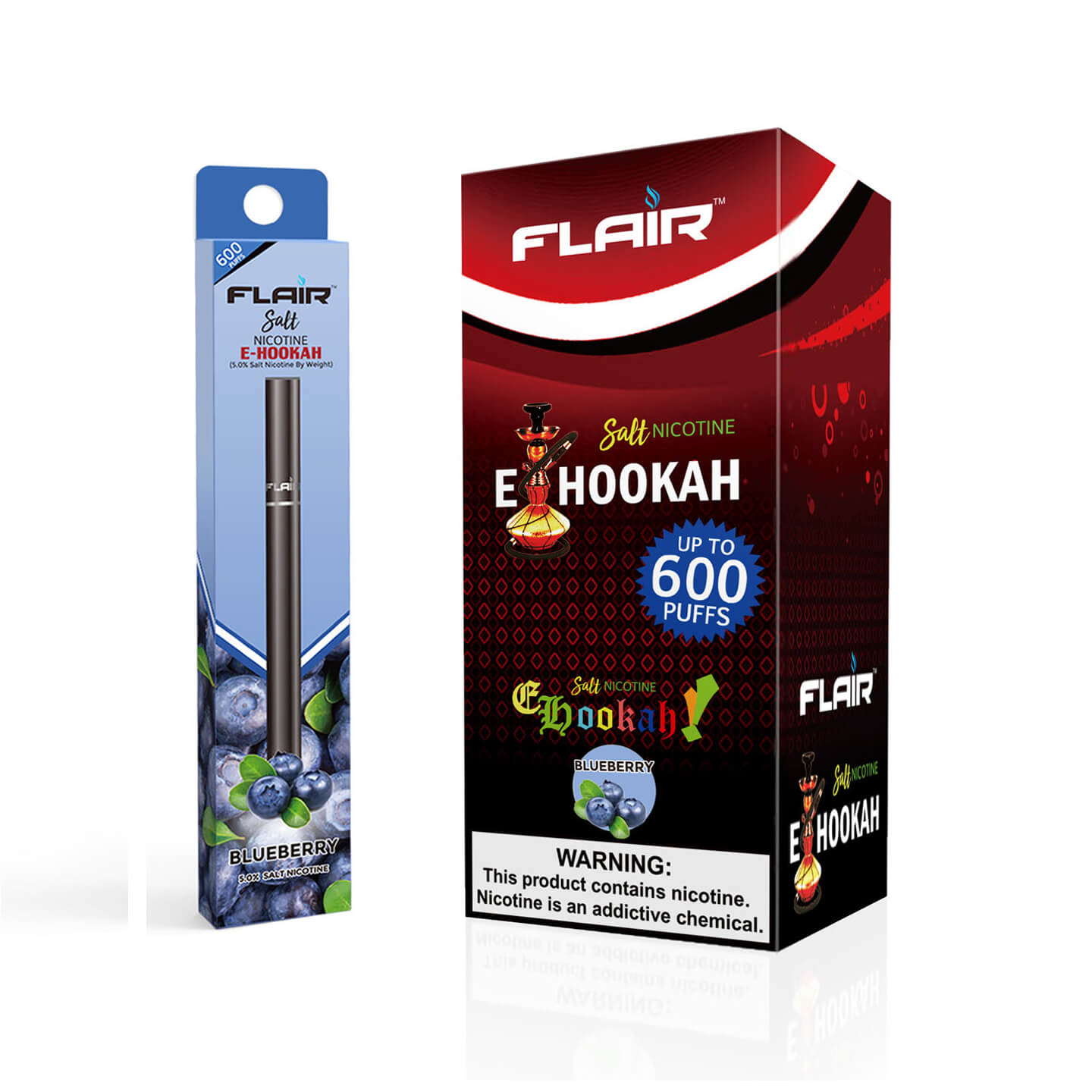 Flair Salt Nicotine Disposable Pen (Blueberry)