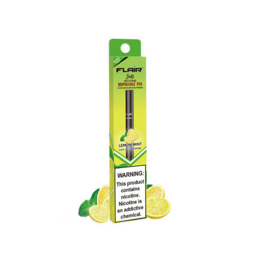 Flair Salt Nicotine Disposable Pen Lemon Mint Flavour