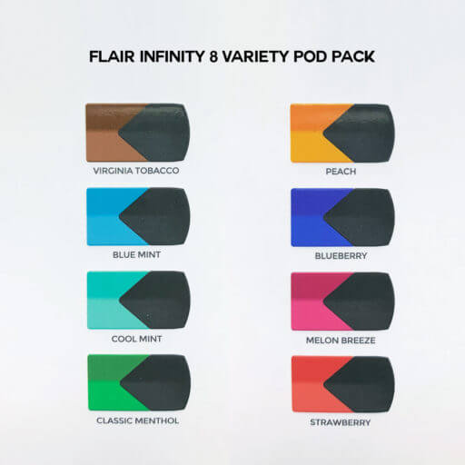 8 Variety Pods Pack with name