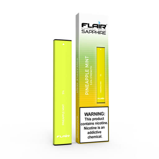 Main Image of Flair Sapphire Disposable Device (Pineapple mint)